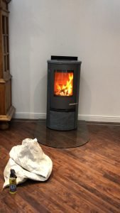 TERMATECH VENTED AT 90 DEGREES WITH GLASS HEARTH